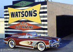 Larry Watson Fifties Corvettes - Custom Car ChronicleCustom Car Chronicle