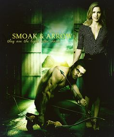 Shielded Arrow Oliver and Felicity