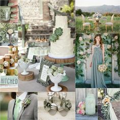 Pin by stacey cann on wedding wonders in 2019 свадьба. Wedding Mint Green, Sage Wedding, Wedding Bells, Summer Wedding, Rustic Wedding, Our Wedding, Dream Wedding, Wedding Stuff, Wedding Cake