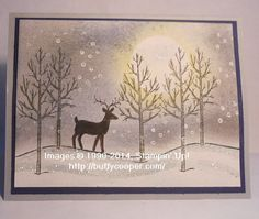 White Christmas, Stampin' Up!, Holidays