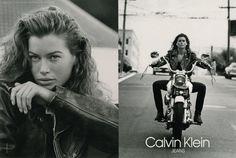 Calvin Klein Jeans Carré Otis | Marcus Schenkenberg | ©Bruce Weber