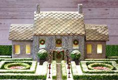 European Garden in Gingerbread