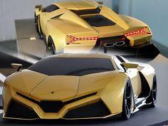 Concept Car - Lamborghini Cnosso Concetto 2010 - Auto Club