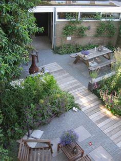Achtertuin - Tuin - Vlonders - Planken - Inspiratie