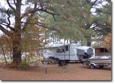 Fall camping at Janes Island State Park, MD