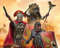 Roman legionaries in battle in Mesopotamia Rome History, Ancient History, Art History, Imperial Legion, Roman Armor, Roman Warriors, Roman Legion, Roman Soldiers, Ancient Rome