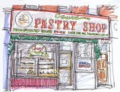 Court Street Pastry by Nattmade on Etsy, $75.00