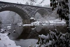 Winter on the Blue Ridge