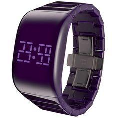 Illumi  Watch Unisex Purple, 85€, now featured on Fab.