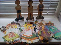 Одень куклу СССР,бумажные фото 3