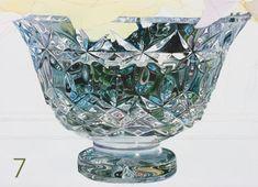 Soon Y. Warren  Painting cut crystal. tam_sep10_brushingup7