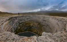 Diana's Punchbowl in nowhere, Nevada.- 20 Incredible Landmarks You've Never Heard Of