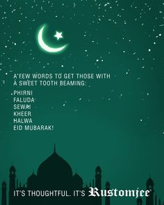 Eid Mubarak to you and your family, may this festival bring you joy and prosperity :)