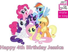 my little pony birthday candle - Google Search