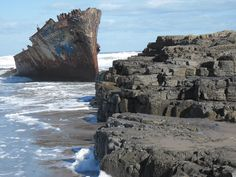 Jackaranda Shipwreck Shipwreck, Mount Rushmore, Cape, Ireland, Mountains, World, Places, Nature, Travel