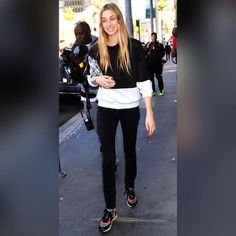 Whitney Port let her bold leather-and-snake print Ash sneakers stand out against her minimalist black-and-white ensemble.  Add a pair of cool Shoe String King shoelaces to your look for an instant style upgrade. Got to our website now at www.ShoeStringKing.com and buy our shoelaces!  #SSKfemale #Ash #sneakers #black #jeans #model #chic #pretty #shoes #street #cool #shoeporn #shoegasm #instashoes #instastyle #instafashion #instapic #instagood #ootd #lookoftheday #shoelover #sneakerheads