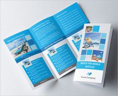 Travel Agency Promotional Brochure Template   Travel Brochure