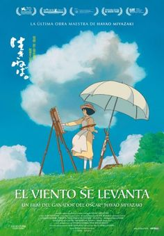 A fantastic poster from the Academy Award-winning anime movie The Wind Rises by Hayao Miyazaki and Studio Ghibli! Check out the rest of our great selection of Hayao Miyazaki posters! Need Poster Mounts. Jiro Horikoshi, Hayao Miyazaki, Anime Plus, Anime W, Zelda Anime, Film D'animation, Film Movie, Totoro, Studio Ghibli Films