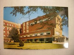 Vintage Photo Postcard Allen Memorial Hospital Waterloo Iowa Unused | eBay