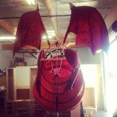 Directions on how to make Shrek Dragon Shrek Dragon, Dragon Puppet, Puppet Costume, Lion King Costume, Dragon Statue, Dragon Art, Dragon Project, Cool Dragons, Dragon Knight