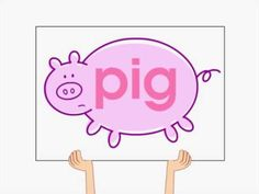 """The Big Pig Song"" - Super cute for learning the -ig family of words."