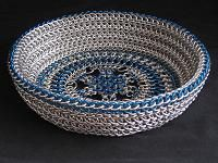 Chainmaille basket.