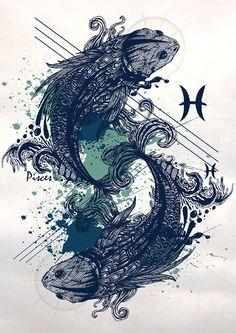Zodiac Signs Illustrations on Behance