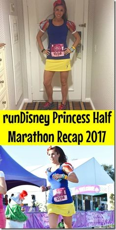 the runDisney Princess half marathon is a great race for beginner runners. You run through the Magic Kingdom and EPCOT during the half marathon on a fast and pretty flat course. I dressed as Snow White this year. Check out my pictures and a video by clicking now!