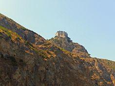 """Tindari (ME) - Il santuario della Madonna """"nera"""" di Tindari fotografato dalla spiaggia della Riserva Naturale """"laghetti di Marinello""""   da Lorenzo Sturiale"""