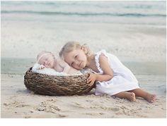 newborn beach session ocean isle beach nc