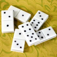 DIY Melt and Pour Domino Soaps