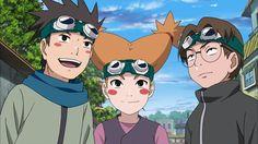 Konohamaru , Moegi and Udon