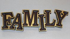 Personalized Custom Family Plaque Sign Carved by PrecisionCarving, $30.00