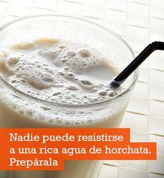 Prepara la Deliciosa agua de horchata