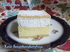 Hullámos krémes (Gluténmentes) Gluten Free Recipes, Vanilla Cake, Free Food, Paleo, Sweets, Meals, Baking, Desserts, Snacks