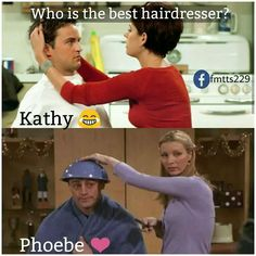 Obviously Phoebe!!