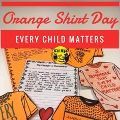 Orange Shirt Day is recognized each year on September It is important to educate everyone about Canada's wrongs so we can learn from it and begin to repair the damage that has been done. High School Activities, School Resources, Every Child Matters, Indigenous Education, Residential Schools, Kindergarten Prep, Canadian History, Orange T Shirts, Anti Bullying