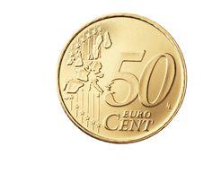 50 Centimos EUROS Moneda Europa EURO