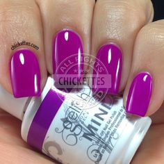 Chickettes.com Gelish Tahiti Hottie from the Gelish Colors of Paradise Collection