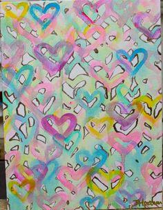 Little Heart Flutters 9x12 by Jennifer Moreman by JenniferMoreman, $275.00