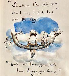 Art by Charlie Mackesy Lynda Barry, I Feel Lost, Charlie Mackesy, The Mole, Horse Quotes, Horse Art, Beautiful Words, Cool Words, Decir No