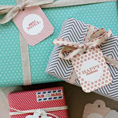 christmas tags | the bride's diary