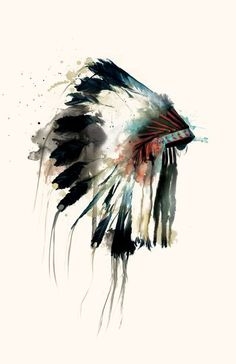 Indian head #painting #painting art| http://awesomepaiting.blogspot.com