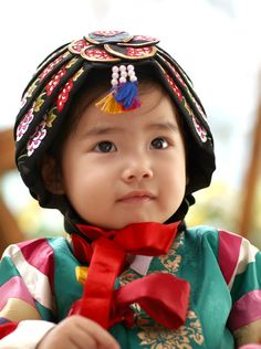 Baby girl's #hanbok