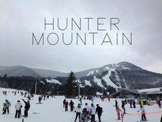 hunter mountain, ny  Private Charter.  Bear Creek Ski Shack. #winterupstateny