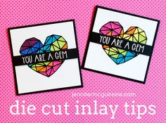 Video: Inlay Die Cutting Tips + Blog Hop + Giveaway