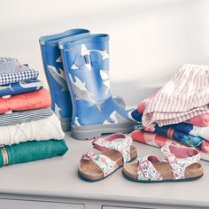 Cheery prints for the little ones.