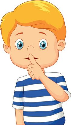 Cartoon boy with finger over his mouth Royalty Free Vector , Time Cartoon, Cartoon Boy, Cartoon Pics, Cartoon Characters, Clipart, Classroom Images, Classroom Rules, Preschool Writing, Free Vector Illustration