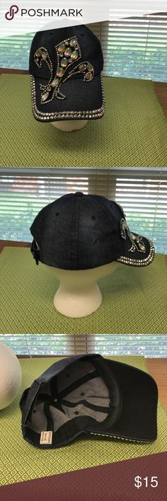 Ladies ball cap Glitzy ball cap.  I got a lot of compliments on this.  It was worn a lot but still looks new. Other