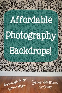 River Road Rustics: Affordable Photography Backdrops!